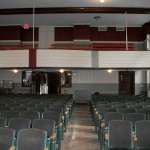 Colfax WI Municipal Building Theater Balconey Restoration