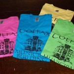 Colfax WI Municipal Building Restoration T Shirts