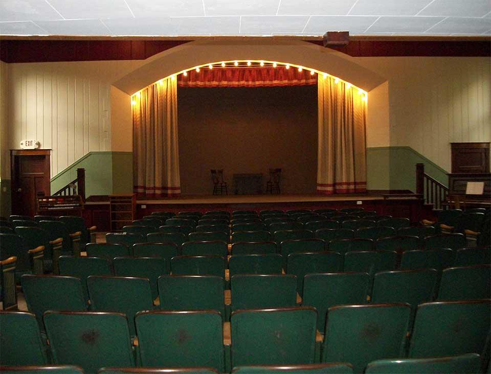 Colfax WI Municipal Building Theater Balconey Restoration